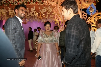 Celebrities at Harshit Reddy Wedding Reception - 35 of 65