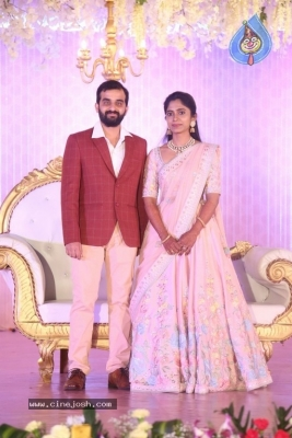 Celebrities at Harshit Reddy Wedding Reception - 36 of 65