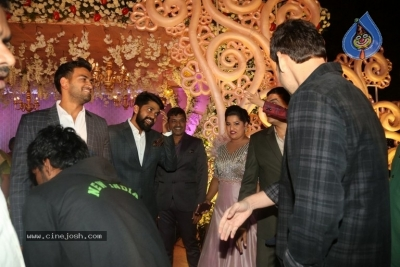 Celebrities at Harshit Reddy Wedding Reception - 39 of 65