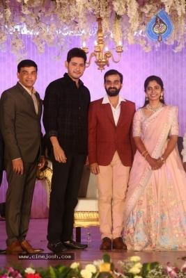 Celebrities at Harshit Reddy Wedding Reception - 42 of 65