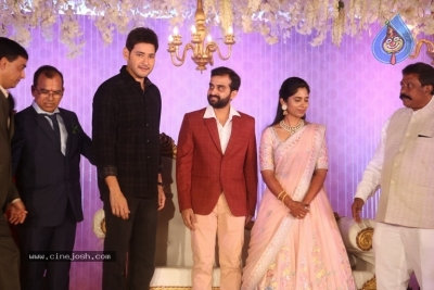 Celebrities at Harshit Reddy Wedding Reception - 45 of 65