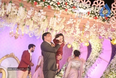 Celebrities at Harshit Reddy Wedding Reception - 47 of 65