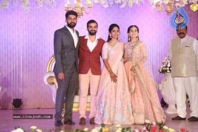 Celebrities at Harshit Reddy Wedding Reception - 48 of 65