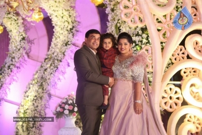 Celebrities at Harshit Reddy Wedding Reception - 49 of 65