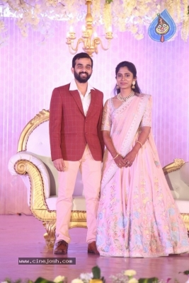Celebrities at Harshit Reddy Wedding Reception - 50 of 65