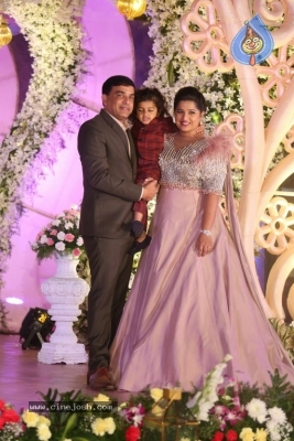Celebrities at Harshit Reddy Wedding Reception - 51 of 65