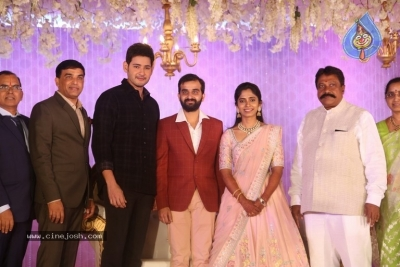 Celebrities at Harshit Reddy Wedding Reception - 54 of 65