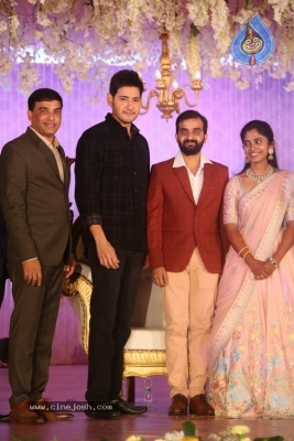 Celebrities at Harshit Reddy Wedding Reception - 58 of 65