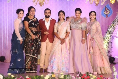 Celebrities at Harshit Reddy Wedding Reception - 59 of 65