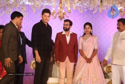 Celebrities at Harshit Reddy Wedding Reception - 62 of 65