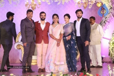 Celebrities at Harshit Reddy Wedding Reception - 64 of 65