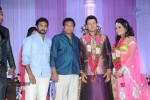 Celebs at Raja Wedding Reception - 13 of 148