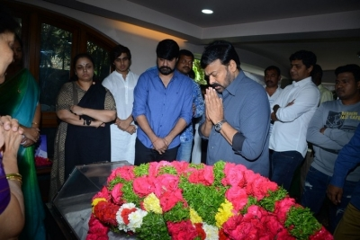 Celebs Pay Homage to Srikath Father - 2 of 36