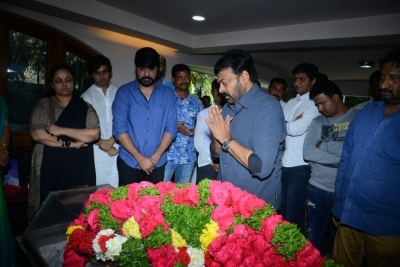 Celebs Pay Homage to Srikath Father - 3 of 36