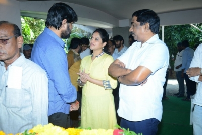 Celebs Pay Homage to Srikath Father - 5 of 36