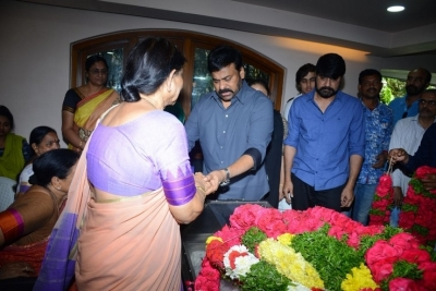 Celebs Pay Homage to Srikath Father - 6 of 36