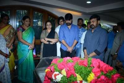 Celebs Pay Homage to Srikath Father - 7 of 36