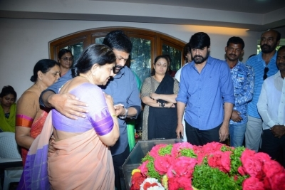 Celebs Pay Homage to Srikath Father - 8 of 36