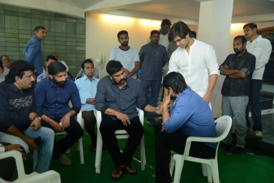 Celebs Pay Homage to Srikath Father - 10 of 36