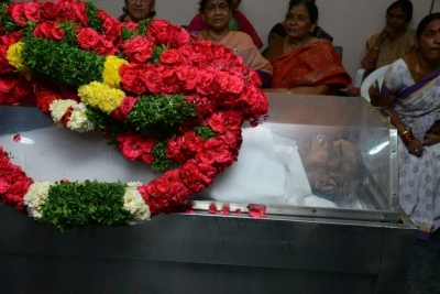 Celebs Pay Homage to Srikath Father - 11 of 36