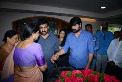 Celebs Pay Homage to Srikath Father - 14 of 36