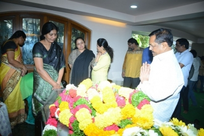 Celebs Pay Homage to Srikath Father - 15 of 36