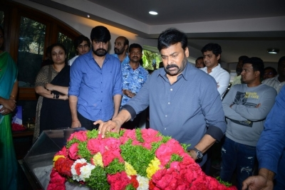 Celebs Pay Homage to Srikath Father - 18 of 36