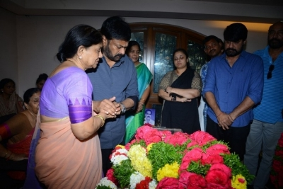Celebs Pay Homage to Srikath Father - 19 of 36