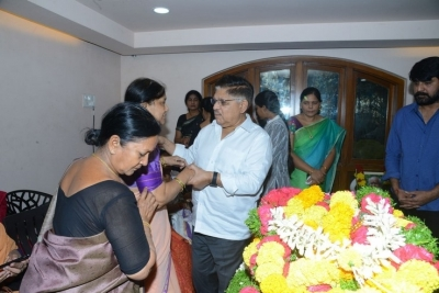 Celebs Pay Homage to Srikath Father - 20 of 36