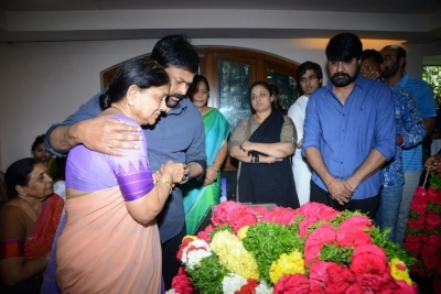 Celebs Pay Homage to Srikath Father - 21 of 36