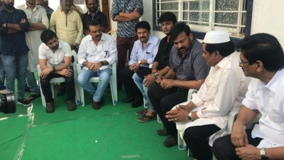 Chiranjeevi  Condolences On The Demise Of Ali Mother - 1 of 15