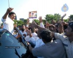 Chiru gets Rousing Reception at RGI Airport - 10 of 19