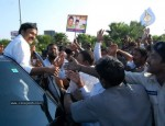 Chiru gets Rousing Reception at RGI Airport - 17 of 19