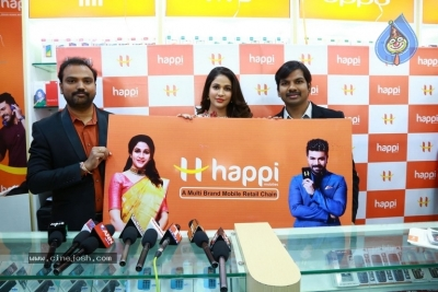 Happi Mobiles Grand Store Launched By Actress Lavanya Tripathi - 5 of 20
