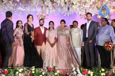 Harshith Reddy - Gowthami Wedding Reception - 2 of 40