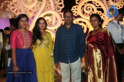 Harshith Reddy - Gowthami Wedding Reception - 5 of 40
