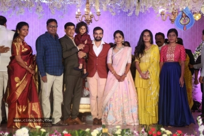 Harshith Reddy - Gowthami Wedding Reception - 10 of 40