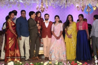 Harshith Reddy - Gowthami Wedding Reception - 11 of 40