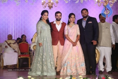 Harshith Reddy - Gowthami Wedding Reception - 12 of 40