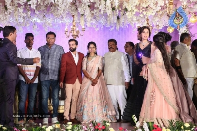Harshith Reddy - Gowthami Wedding Reception - 14 of 40