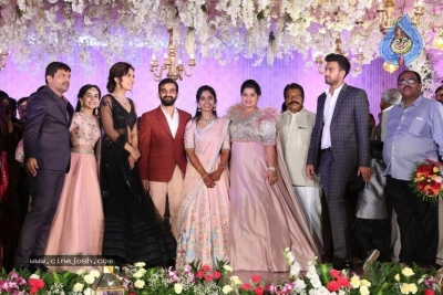 Harshith Reddy - Gowthami Wedding Reception - 16 of 40