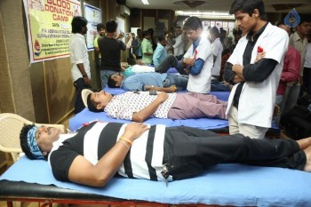 Hyderabad Talwars Blood Donation Camp Photos - 3 of 32