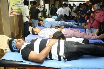 Hyderabad Talwars Blood Donation Camp Photos - 6 of 32