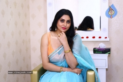 Namitha Launches Green Trends Salon - 1 of 17