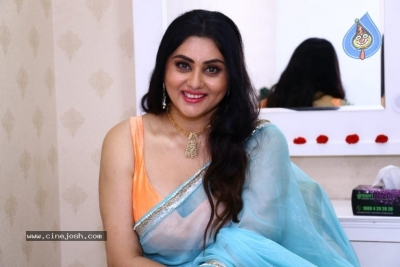 Namitha Launches Green Trends Salon - 2 of 17