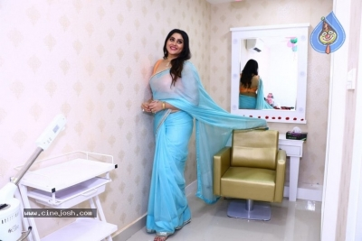 Namitha Launches Green Trends Salon - 3 of 17
