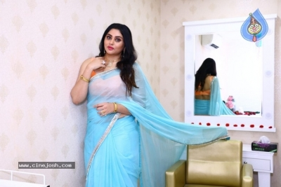 Namitha Launches Green Trends Salon - 6 of 17