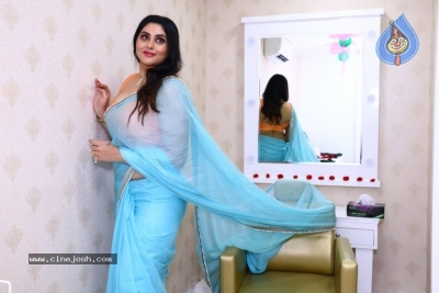 Namitha Launches Green Trends Salon - 7 of 17