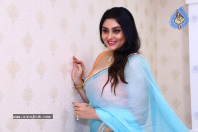 Namitha Launches Green Trends Salon - 8 of 17