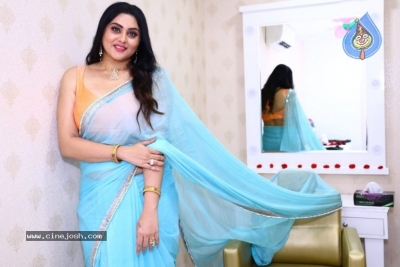 Namitha Launches Green Trends Salon - 10 of 17